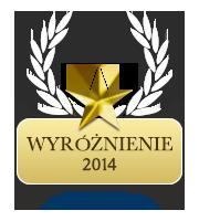 Wyróżnienie za rok 2014 dla kraina-czasu.pl